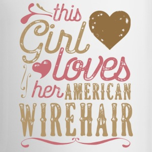 This Girl Loves Her American Wirehair Cat Mugs & Drinkware - Coffee/Tea Mug