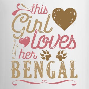 This Girl Loves Her Bengal Cat Mugs & Drinkware - Coffee/Tea Mug