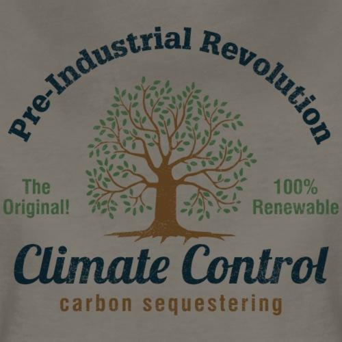 Pre-Industrial Revolution Climate Control