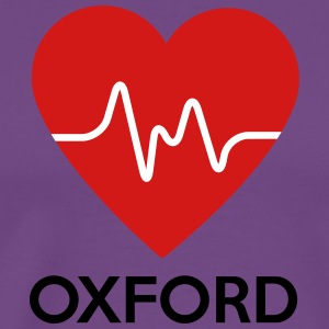 Heart Oxford - Men's Premium T-Shirt