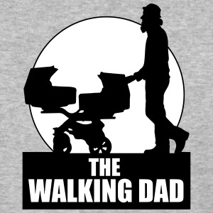 THE WALKING DAD - TWO - TWINNS T-Shirts - Baseball T-Shirt