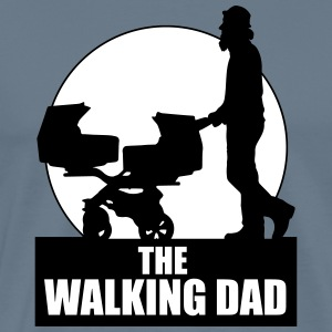 THE WALKING DAD - TWO - TWINNS T-Shirts - Men's Premium T-Shirt