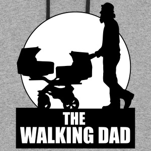 THE WALKING DAD - TWO - TWINNS Hoodies - Colorblock Hoodie