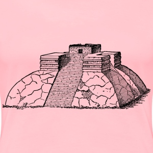 Ancient Mexican pyramid 2 - Women's Premium T-Shirt
