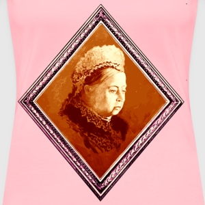 Queen Victoria 2 - Women's Premium T-Shirt