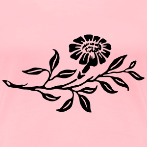 Flower 57 - Women's Premium T-Shirt