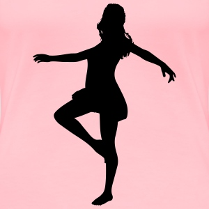 Woman dancing - Women's Premium T-Shirt