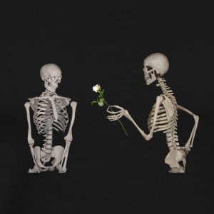Skeletons in love - Men's Premium T-Shirt