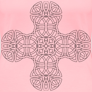 Celtic Knot s Revenge Cross - Women's Premium T-Shirt