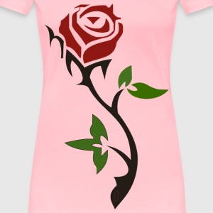 Simple Rose - Women's Premium T-Shirt