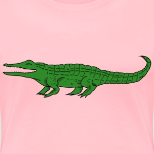 Crocodile 4 - Women's Premium T-Shirt