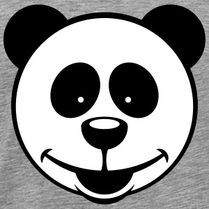 Panda Bear (Smiling / 2C) T-Shirts - Men's Premium T-Shirt
