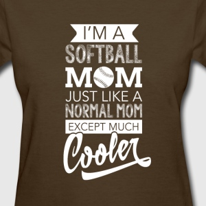 softball mom t shirt  - Women's T-Shirt