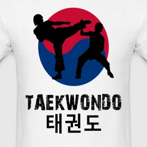Taekwondo sparring t shirt - Men's T-Shirt