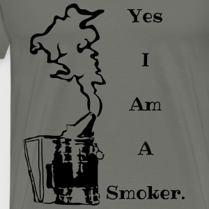 Smoker - Men's Premium T-Shirt