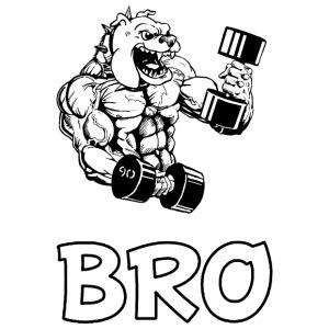 Bro_Dark Shirts