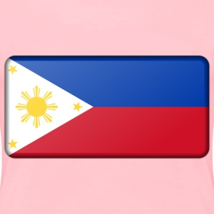 Philippines flag (bevelled) - Women's Premium T-Shirt