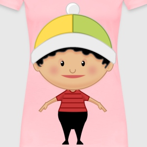 Little kid front - Women's Premium T-Shirt