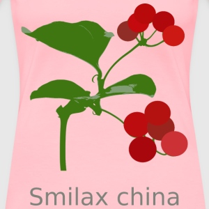 Smilax china - Women's Premium T-Shirt