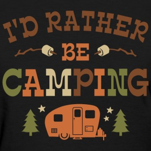 Rather Be Camping C1 T-Shirts - Women's T-Shirt
