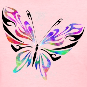 Colorful Butterfly - Women's T-Shirt