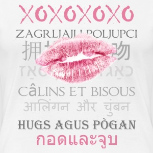 Hugs and Kisses International - Women's Premium T-Shirt