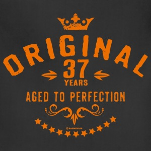 Original 37 years aged to perfection - RAHMENLOS birthday gift Aprons - Adjustable Apron