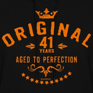 Original 41 years aged to perfection - RAHMENLOS birthday gift Hoodies - Women's Hoodie