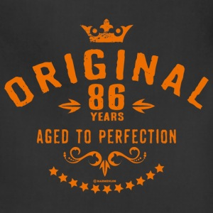 Original 86 years aged to perfection - RAHMENLOS birthday gift Aprons - Adjustable Apron
