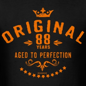 Original 88 years aged to perfection - RAHMENLOS birthday gift T-Shirts - Men's T-Shirt
