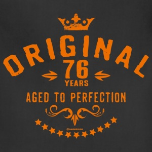 Original 76 years aged to perfection - RAHMENLOS birthday gift Aprons - Adjustable Apron