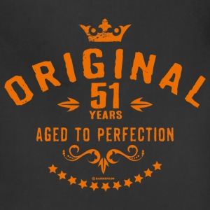 Original 51 years aged to perfection - RAHMENLOS birthday gift Aprons - Adjustable Apron