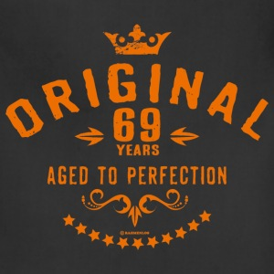 Original 69 years aged to perfection - RAHMENLOS birthday gift Aprons - Adjustable Apron