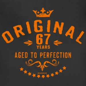 Original 67 years aged to perfection - RAHMENLOS birthday gift Aprons - Adjustable Apron