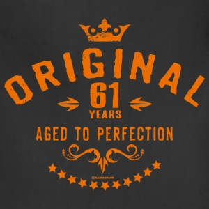 Original 61 years aged to perfection - RAHMENLOS birthday gift Aprons - Adjustable Apron