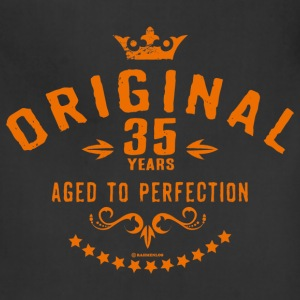 Original 35 years aged to perfection - RAHMENLOS birthday gift Aprons - Adjustable Apron