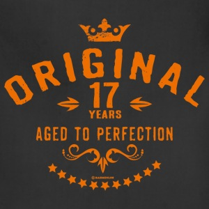 Original 17 years aged to perfection - RAHMENLOS birthday gift Aprons - Adjustable Apron