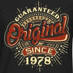 Birthday guaranteed since 1978 - Present Long Sleeve Shirts - Men's Premium Long Sleeve T-Shirt
