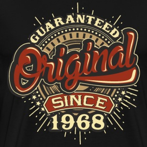 Birthday guaranteed since 1968 - Present T-Shirts - Men's Premium T-Shirt