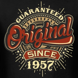 Birthday guaranteed since 1957 - Present T-Shirts - Men's T-Shirt