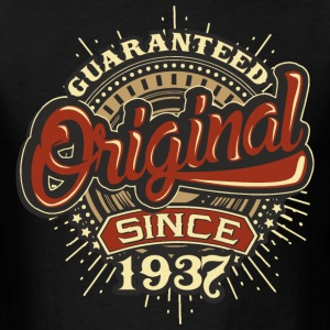 Birthday guaranteed since 1937 - Present T-Shirts - Men's T-Shirt