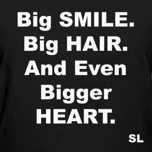 Big SMILE, HAIR, HEART T-Shirts - Women's T-Shirt