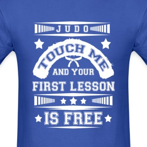 First lesson Is Free Judo T Shirt - Men's T-Shirt