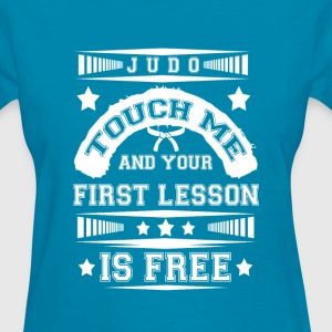 First lesson Is Free Judo T Shirt - Women's T-Shirt