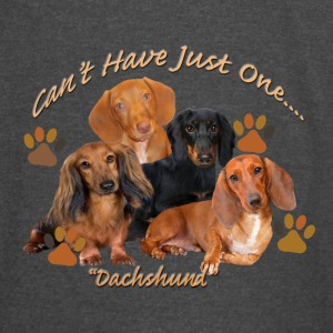Dachshund Can't Have Just One - Vintage Sport T-Shirt
