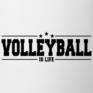 volleyball is life 1 Mugs & Drinkware - Coffee/Tea Mug