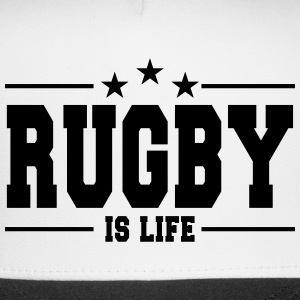 rugby is life 1 Sportswear - Trucker Cap