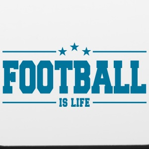 football is life 1 Phone & Tablet Cases - iPhone 6/6s Rubber Case