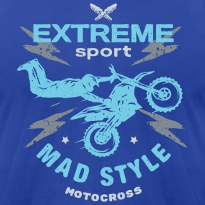 Mad Style Moto - Men's T-Shirt by American Apparel
