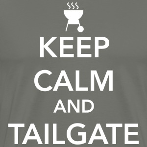 Keep calm and tailgate T-Shirts - Men's Premium T-Shirt